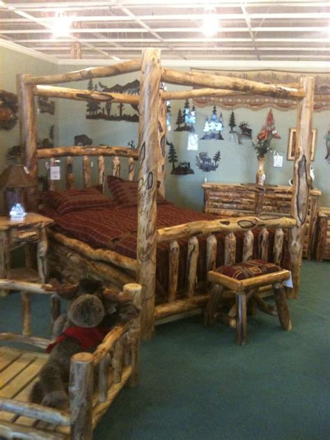 rustic log furniture furniture stores 5353 bannock st
