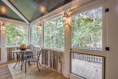country style screened porch  chesterfield va rva