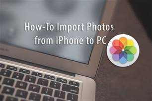 how to import photos from iphone to computer how to import photos from iphone to pc appletoolbox