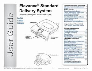 Midmark Elevance U00ae Standard Delivery System User Guide