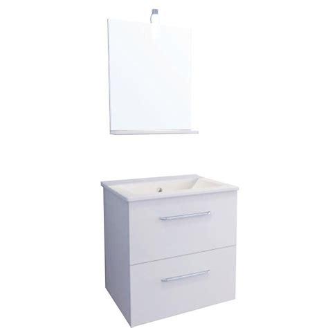 meuble vasque blanc sensea dado leroy merlin