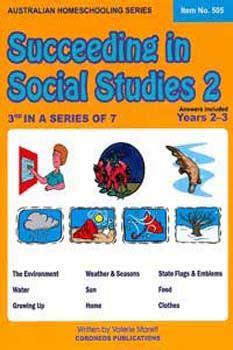 australian homeschooling series succeeding in social studies 2 no 505 sose school office