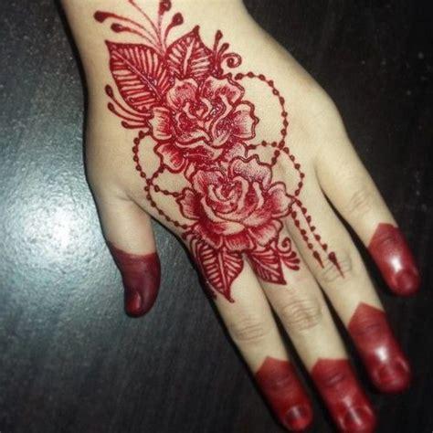 shocking rose mehndi design rose eid mehndi designs eid mehndi crayon