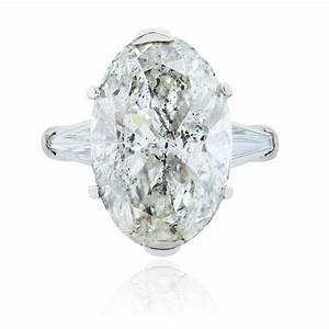 Platinum 905ct oval diamond engagement ring for Oval diamond wedding rings