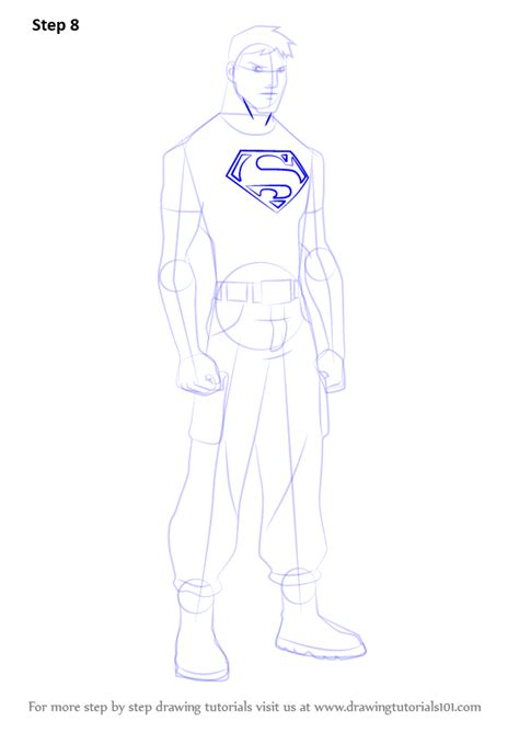 learn   draw superboy  young justice young