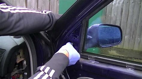 vw golf mk door mirror removal   simple easy steps