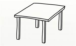 Table Outline - ClipArt Best