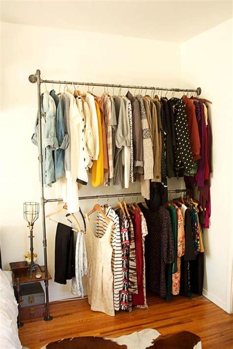 Bedroom Clothes Closet by Best 20 No Closet Solutions Ideas On No