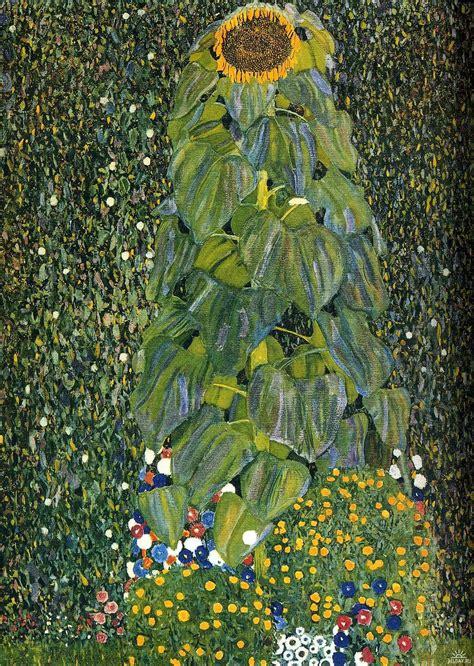 La Klimt - gustav klimt the sunflower 1906 1907 on canvas