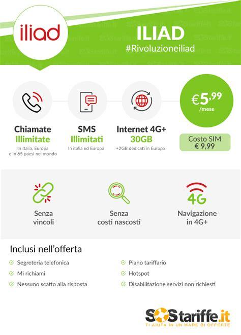 tutti gli operatori di telefonia mobile tariffe telefonia mobile arriva iliad prezzi migliori