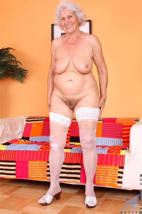 check out sex starved granny betty as she shows us her seasoned juice box and granny seduction