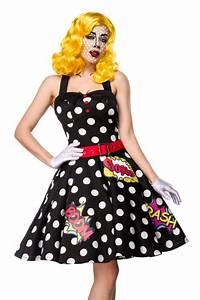 Pop Art Kleidung : pop art girl kost m set kleidung onlineshop ~ Indierocktalk.com Haus und Dekorationen