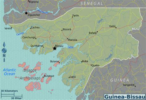 Guinea-Bissau – Travel guide at Wikivoyage