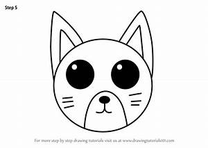 Learn, How, To, Draw, A, Cat, Face, For, Kids, Animal, Faces, For, Kids, Step, By, Step, Drawing, Tutorials