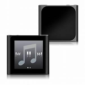 Solid State Black iPod nano 6th Gen Skin | iStyles