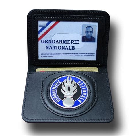porte carte 2 volets gendarmerie administratif fit