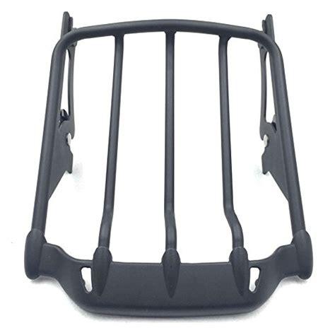 htt chrome black rear saddlebag bracket guard bars    harley touring street road