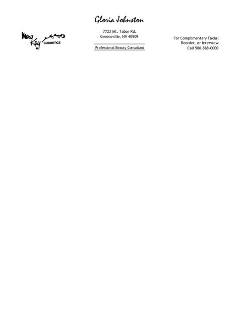 free personal letterhead free printable personal letterhead templates free
