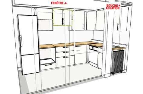 lumiere sous meuble haut cuisine question concernant hotte de cuisine et évacuation 5