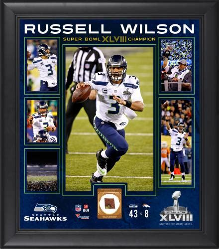 russell wilson memorabilia autographed signed