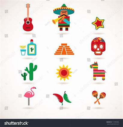 Mexico Illustrations Vector Vectors Shutterstock Footage