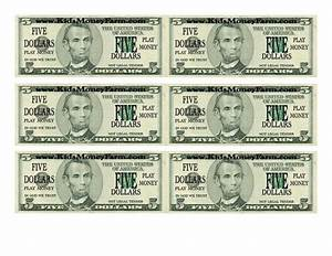 Custom dollar bill template and play money template free for Custom fake money template