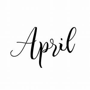 April Calendar  Risalakbarmulya3