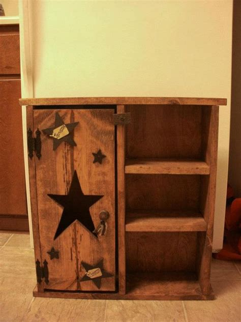 primitive coffee and end tables homemade primitive cabinet love this closely matches