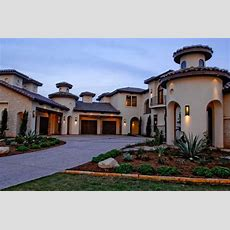 Mediterranean Architecture As Seen On House Exteriors And