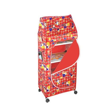 Baby Clothes Cupboard by Buy 5 Shelves Folding Cupboard At Best Price