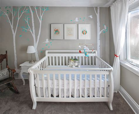 chambre bébé unisex unisex nursery with custom renovation finishing and painting