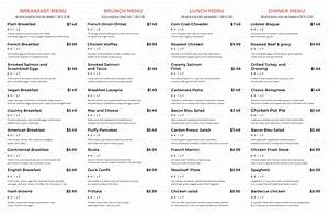 Publisher Photo Book Template Restaurant A3 Menu Template In Psd Word Publisher