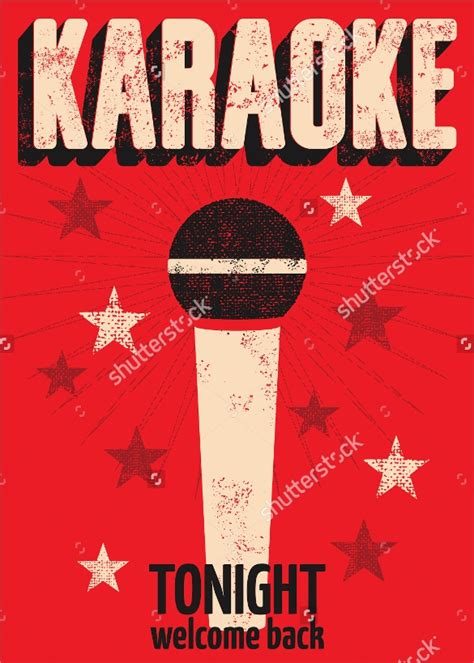 karaoke night flyer templates sample templates