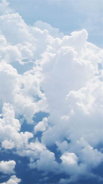 Clouds Iphone Puffy Wallpapers Background Pixelstalk Sky