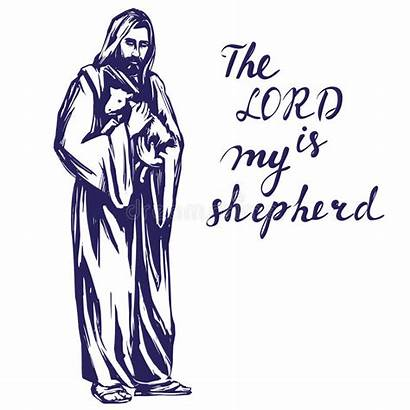 Jesus Lamb Holding Christ God Clipart Son