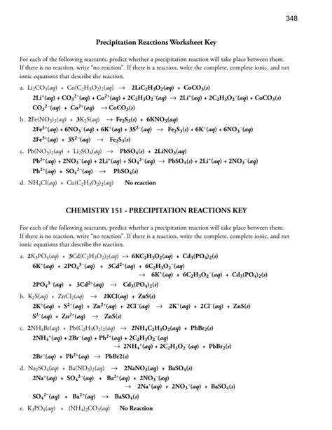 worksheet net ionic equation worksheet answers grass