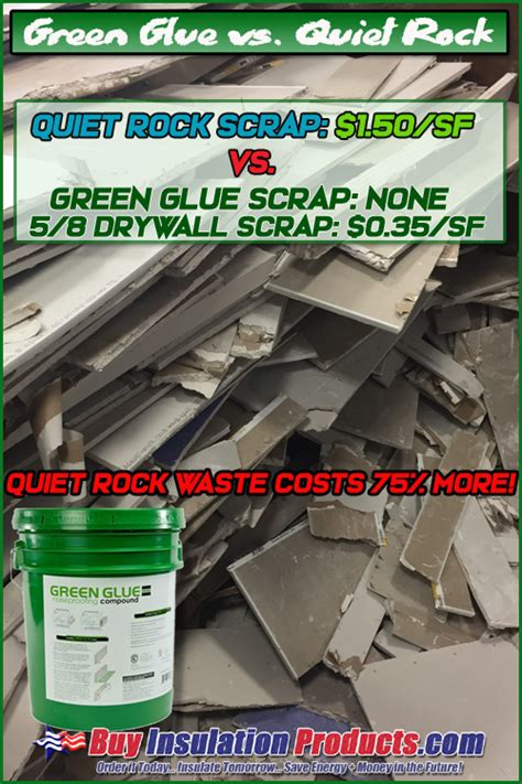 green glue  quiet sheetrock buy insulation products