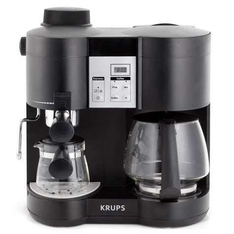 Krups Combination Coffee Maker & Espresso Machine   cutleryandmore.com