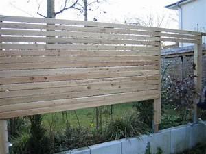 Terrasse Günstig Bauen : holzzaun selber bauen g nstig und solide holzz une ~ Lizthompson.info Haus und Dekorationen