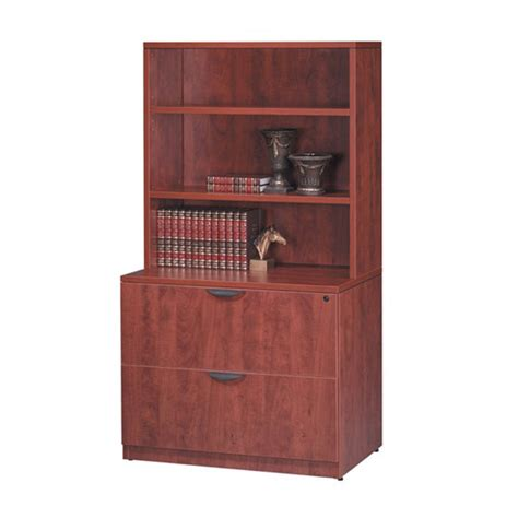 Bookcase With Lateral File Drawer by Classic 2 Drawer Lateral File With Hutch Workplace Partners