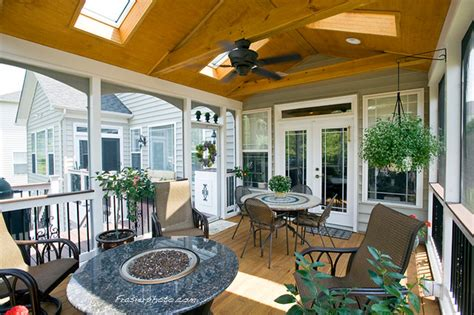 lorton screen porch tub gazebo traditional porch
