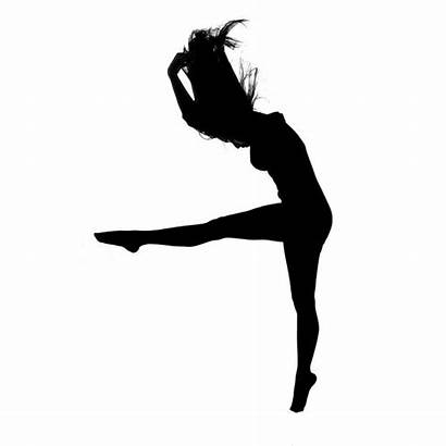 Dancer Dance Contemporary Silhouette Clipart Lyrical Drawing