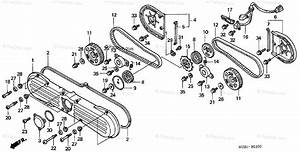 Honda Motorcycle 2001 Oem Parts Diagram For Front Cover