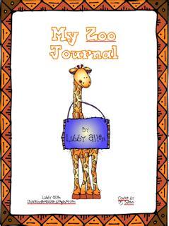 zoo journal  images  grade writer workshop