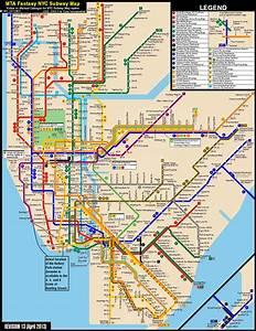 New York City Subway Fantasy Map  Revision 13  By