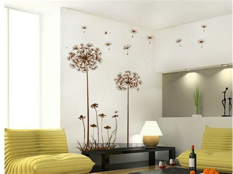 $1 Home Decor : Sweet Home Decor Dandelion Fly Mural Removable Decal Room