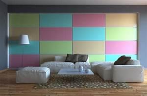 tapeten 13 ideen zur wandgestaltung im wohnzimmer With balkon teppich mit tapete mode