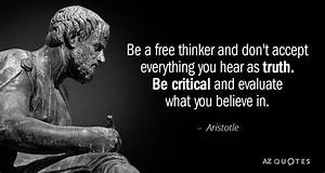 TOP 25 ARISTOTLE QUOTES ON PHILOSOPHY VIRTUE A Z Quotes