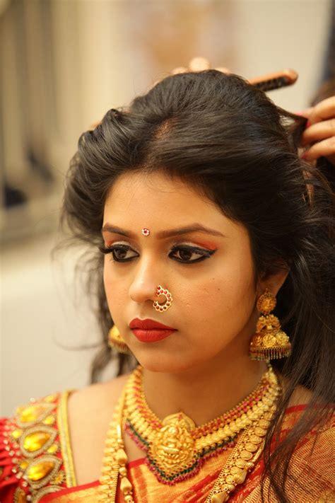 south indian bridal hairstyle  long face fade haircut