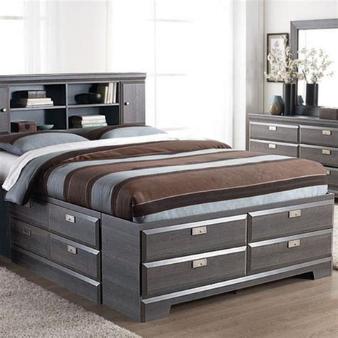 cypres queen storage bed sears sears canada